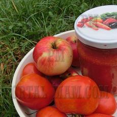 Томатный соус с корицей, яблоками, гвоздикой и горчицей