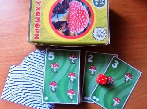 """Гра """"Мухомори"""" для вивчення складу числа і основ арифметики"""